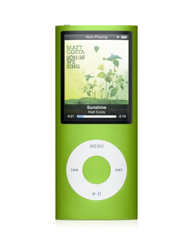 Apple iPod nano 8 GB Green (4th Generation) OLD MODEL