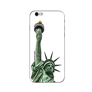 iSweven printed iph6_3131 statue of liberty Design Multicolored Matte finish Back case cover for Apple iPhone 6