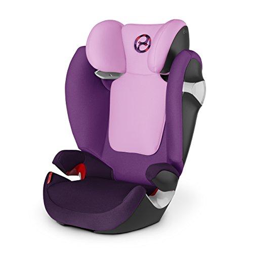 Cybex 515118019 Solution M, Seggiolini Auto  Grape Juice-Purple, Gruppo 2/3 (15-36 Kg)