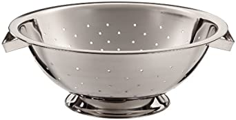 Adcraft COL-5 5 qt Mirror Finish Stainless Steel Colander by Adcraft