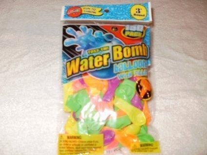 Toss'em Water Bomb Ballons & Filler Cap - 1