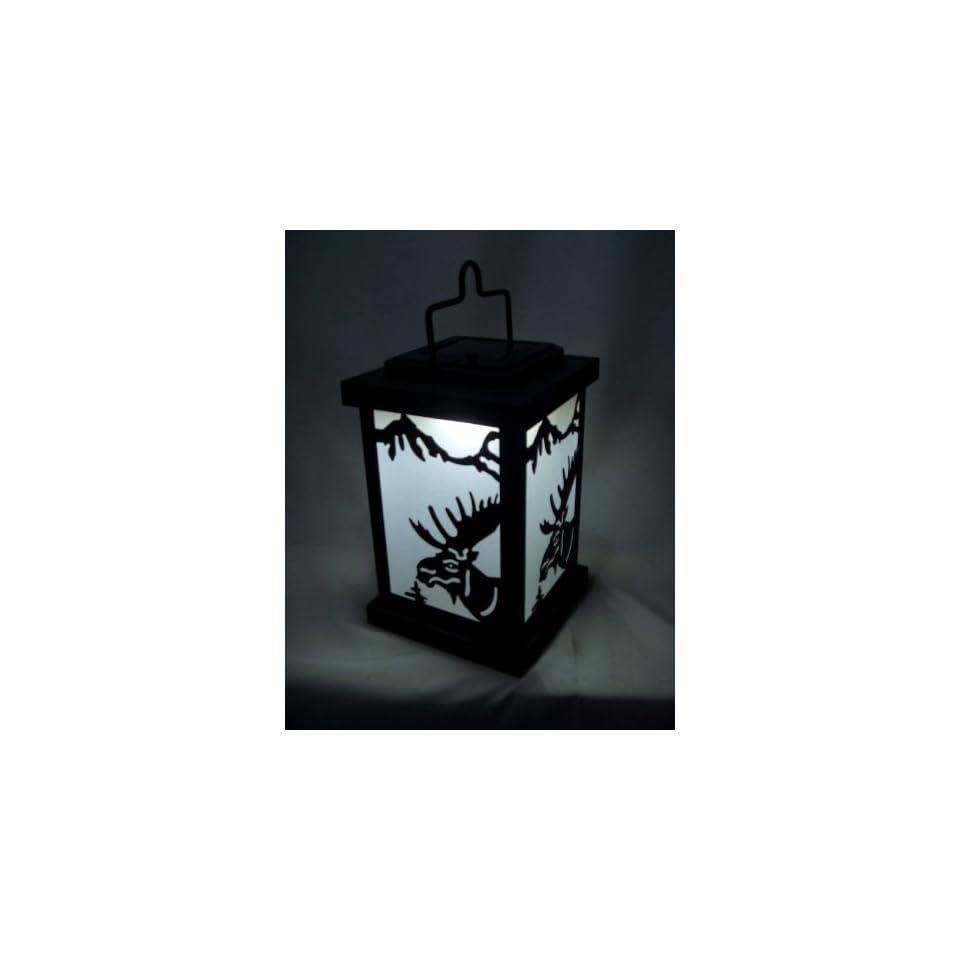 Shadows and Light Bullwinkle Solar LED Lantern   Large