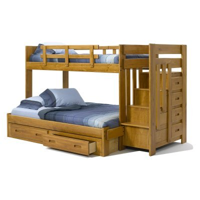 Bunk Beds With Stairs 6684 front