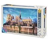 D-Toys - LANDSCAPES Jigsaw Puzzle 500 - Notre Dame, Paris, France - DT50328-AB-34