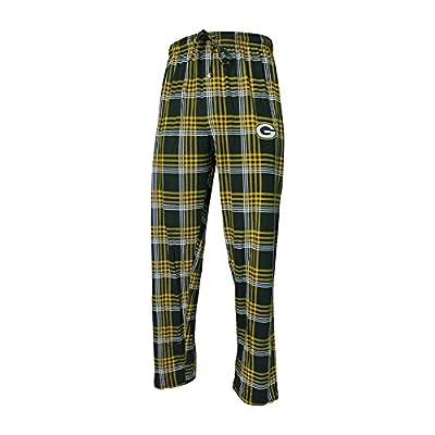 Men's Playoff Plaid Green Bay Packers Pajama Pants