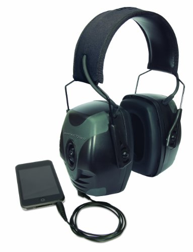 Howard Leight by Honeywell R-01902 Impact Pro Sound Amplification Electronic Earmuff, Black