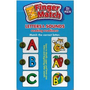 Finger Match - Reading Readiness - 1