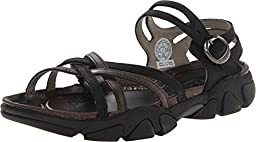 KEEN Women\'s Naples Sandal,Black/Gargoyle,7 M US