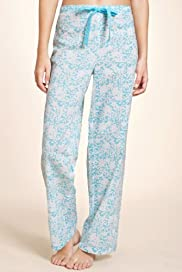 Pure Cotton Floral Print Pyjama Bottoms [T37-3186-S-BGHF]