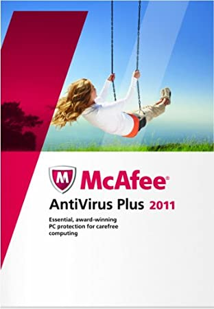 McAfee Antivirus Plus 2011 1 User