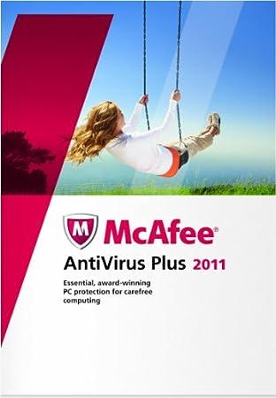 McAfee Antivirus Plus 2011 1 User
