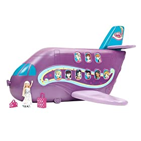 Polly Pocket Polly-Tastic Jumbo Jet Playset
