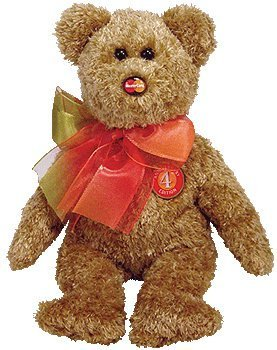 "TY Beanie Baby - MC MASTERCARD Bear ""Anniversary Edition #4"" (Credit Card Exclusive)"