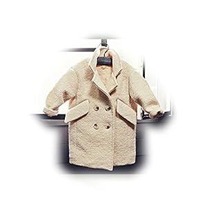 Dopobo Abrigo de lana de doble botonadura para niñas de Dopobo en BebeHogar.com