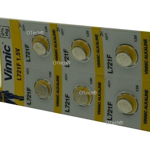 Pack de 10 Vinnic L721F 1.5V ALKALINE