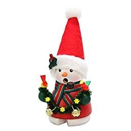 1-673 - Christian Ulbricht Incense Burner - Snowy Santa - 5.5\