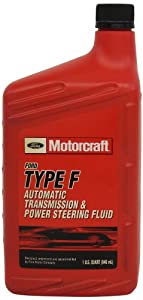 Genuine Ford Fluid XT-1-QF Type-F Automatic Transmission and Power Steering Fluid - 1 Quart