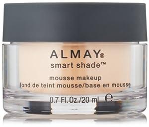 Almay Smart Shade Mousse Makeup, Light, 0.7 Fluid Ounce
