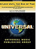 img - for Love Until the End of Time (Maureen McGovern & Placido Domingo) - Piano/Vocal Sheet Music book / textbook / text book