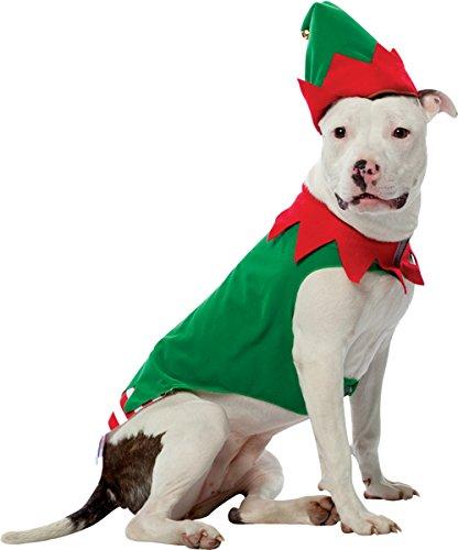 Morris Costumes Pet Costume Elf Size (Homemade Cool Costumes Halloween)