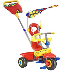 SmarTrike 3 in 1 Fresh - Red/Yellow