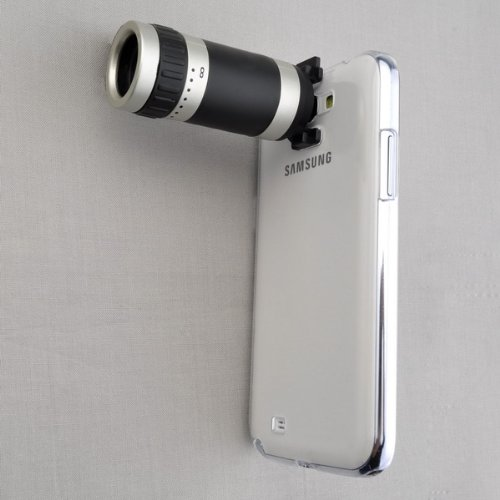 Bestdealusa Telescope Camera 8X Zoom Lens +Case For Samsung N7100 Galaxy Note 2