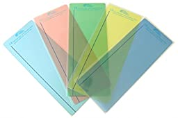 Reading Rulers Plain Window - pk of 30 - 5 Most Popular Colors