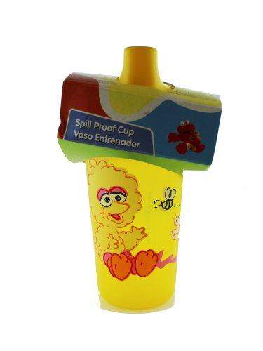 Sesame Street Baby Spill Proof Bottle - Big Bird Baby Bottle front-953254