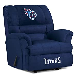 NFL Tennessee Titans Big Daddy Microfiber Recliner by Imperial
