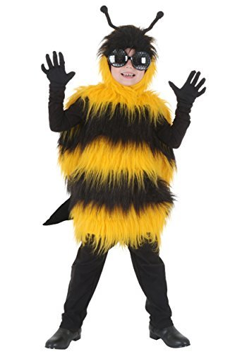 Big Boys' Deluxe Kids Bumblebee Costume
