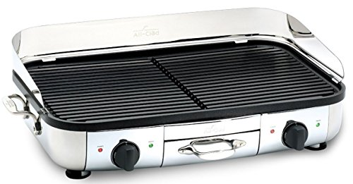 All Clad Tg700262 Electric Indoor Grill With Extra Large