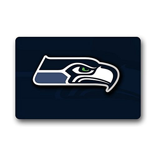 Heymat-Personalized-Doormat-Seattle-Seahawks-Doormat-IndoorOutdoor-Floor-Mat-Door-Mat-Bath-Kitchen-Decor-Entryway-RugFloor-Mat