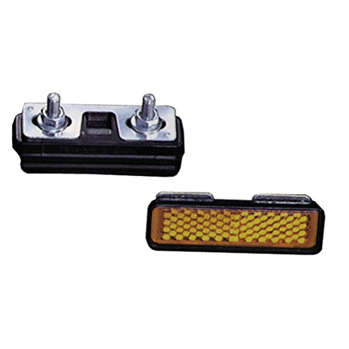 Messingschlager Pedal Reflektoren zum Schrauben Satz=4 Stück