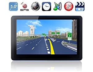 "5.0"" TFT Touch Screen WinCE6.0 GPS Navigator with Radio, Bluetooth, AVIN"