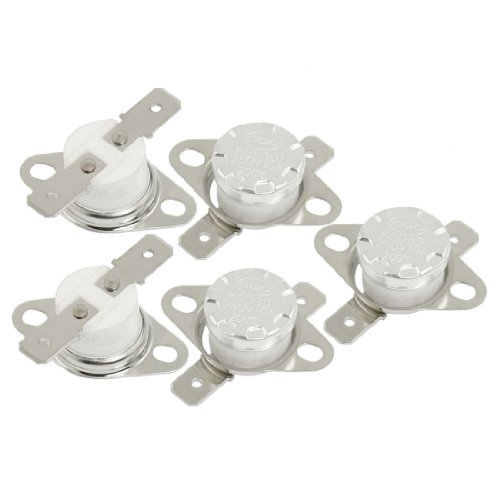 5 Pcs Ksd301 Temperature Control Switch Thermostat 200 Celsius Nc