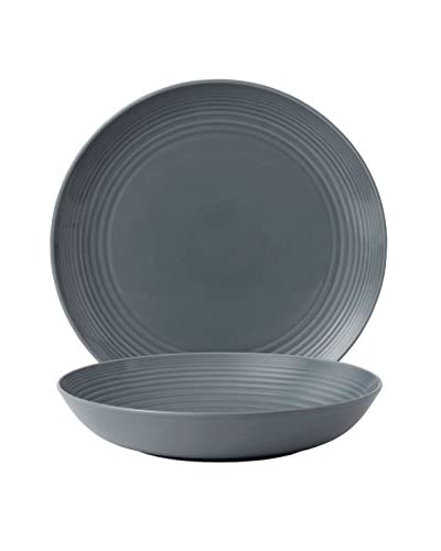Gordon Ramsay Royal Doulton Maze 2-Piece Serving Set, Grey