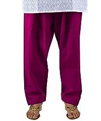 Neha Fashion Women's Regular Patiala Salwar Pant ( Purple )