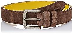 United Colors of Benetton Men's Leather Belt (8903975218598_16A6BLTS6006I902M)