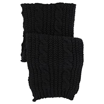 Cria Strickschal by Lierys (One Size - schwarz)