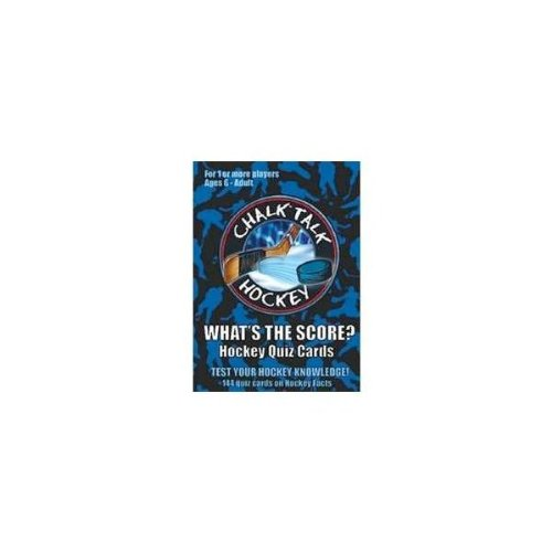 Chalk Talk Hockey Whats the Score Hockey Quiz Cards