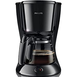 Philips Coffee Maker 10 Cups : Philips coffee maker Black - HD7447/20: Amazon.co.uk: Kitchen & Home