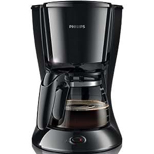 Philips HD7447/20 Daily Kaffeemaschine, schwarz, abnehmbarer, ausschwenkbaren Filter