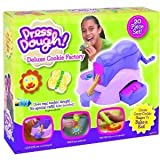 Press Dough Deluxe Cookie Factory Cutters and Shapes