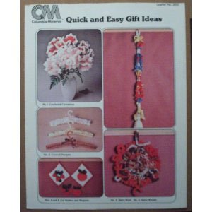 Easy Craft Ideas   Sell on Quick And Easy Gift Ideas Stitching Craft Book  Unknown Binding