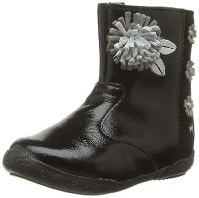 Minibel Fiboty, Chaussures bébé fille - Noir (67), 20 EU (4 UK) (5 US)