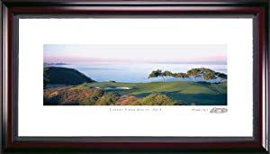 Torrey Pines South Course #3 Hole Framed Golf Picture by Stonehouse Golf