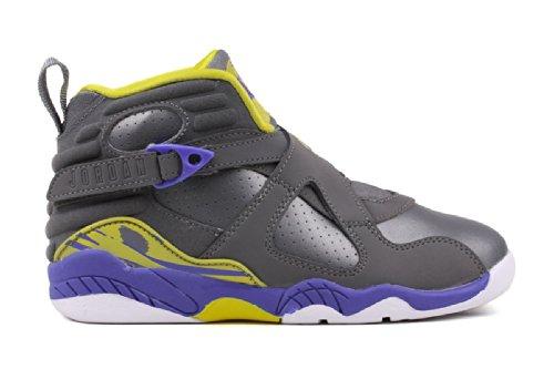 online retailer 34b37 ef52c Air Jordan 8 Retro (PS) Little Girls Basketball Shoes ...