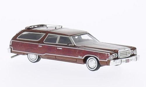 chrysler-town-country-le-cuivre-optique-de-bois-1976-voiture-miniature-miniature-deja-montee-neo-187