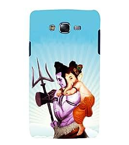printtech Lord God Shiv Ganesh Back Case Cover for Samsung Galaxy Core i8262 / Samsung Galaxy Core i8260