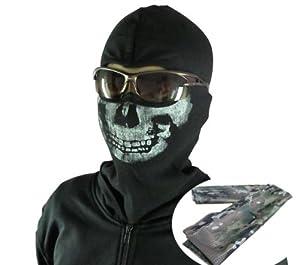 TF141 ghost wind CoD Call of Duty MW2 skull mask balaclava ...